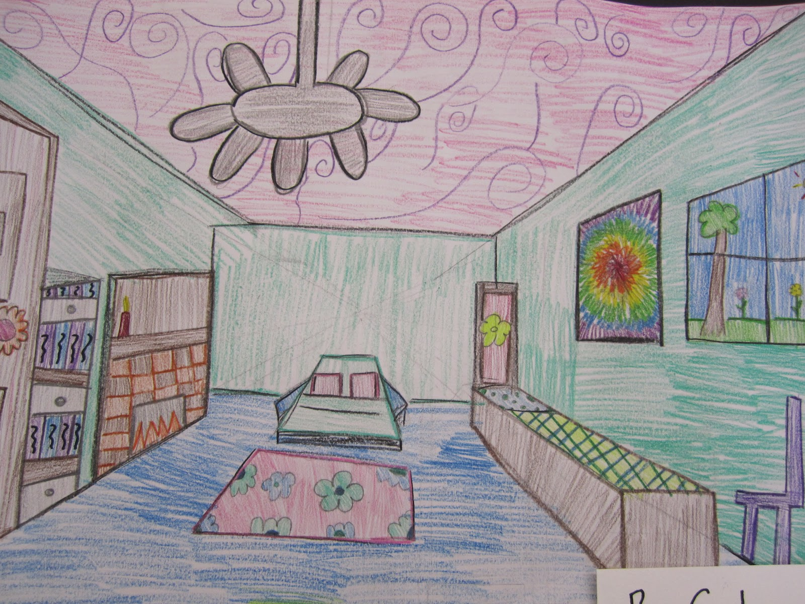 Finished dream rooms 7th grade thinkcreateart for Dream room creator